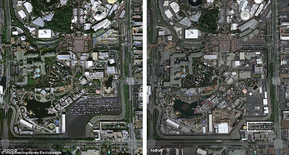 Disney's California Adventure, a  72-acre park built close to the original Disneyland in Anaheim, California, opened in 2001