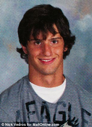 Matthew Barnett's high school yearbook photo