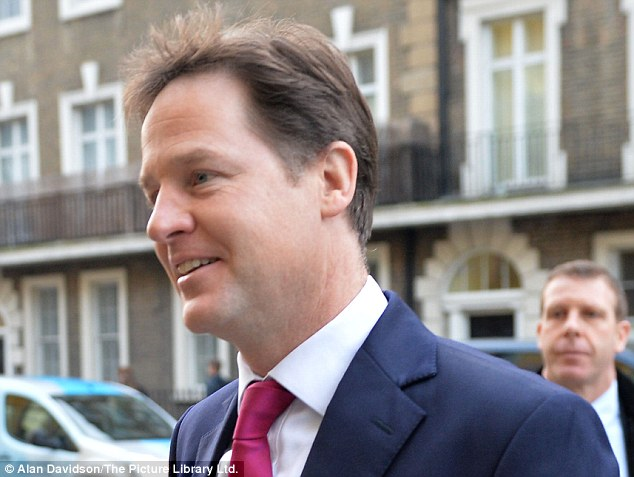 Incredibly, Nick Clegg acted only after an independent report by a QC, who found prima facie evidence that the 67-year-old MP was guilty of 'serious and unwelcome sexual behaviour', was leaked online