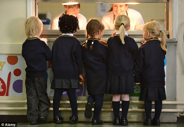 School fine: Parents at the school in Milton Keynes will have the fine doubled if they don't pay it promptly (file picture)