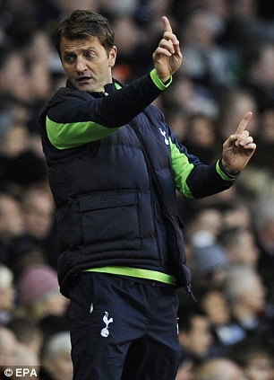 Changing ways: Friedel claims Tim Sherwood understands how the Spurs' fans want the club to play