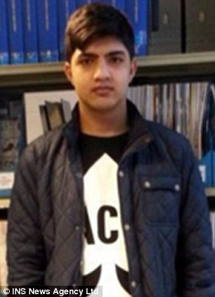 Kanwal Butt, 17, died immediately after putting his ear to the tracks to see if his train was approaching