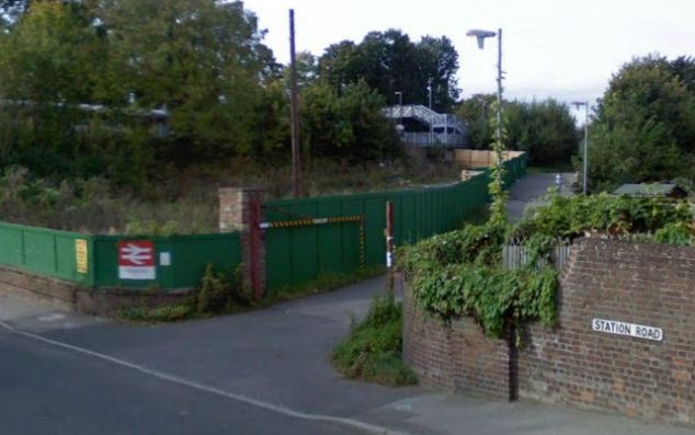 An inquest was told that the teenager, who was making his first solo train journey in Britain from Godstone station (pictured), would probably not have known about live rails