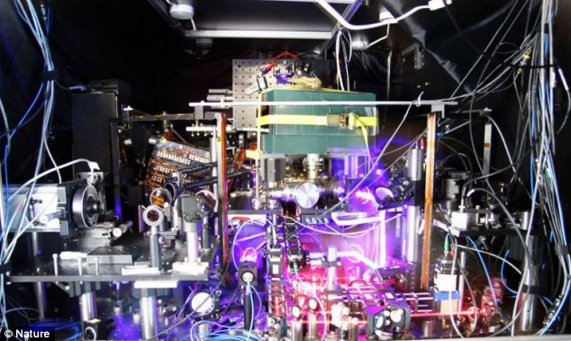 The watch of the future? US scientists say the 'strontium lattice clock' is 50% more accurate than the previous record holder, the National Institute of Standards and Technology (NIST) quantum logic clock.