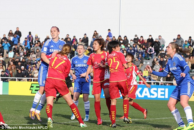 Let's hear it for the girls: But the FA are under fire for their super leagues, with Chelsea on a pre-season tour