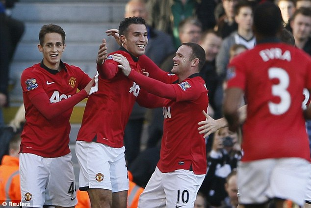 Main men: Most teams would struggle without the combined talents of Robin van Persie and Wayne Rooney