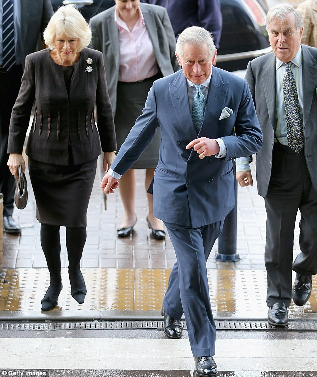 Prince Charles and Camilla, Duchess of Cornwall arrive for an official visit to King's College Hospital