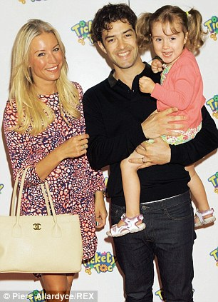 Denise with Lee and their daughter Betsy last July