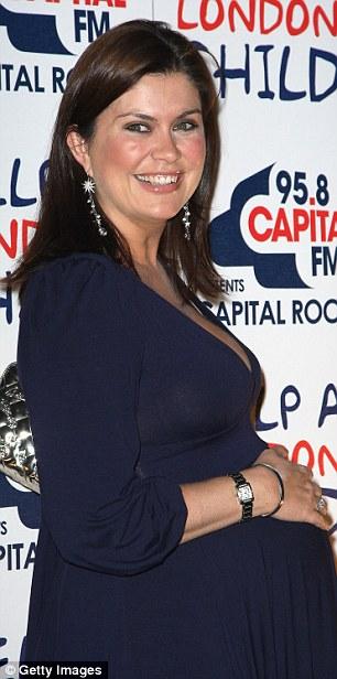 Presenter Amanda Lamb in 2008