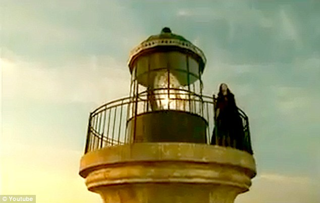 The last advert featured the cloaked widow atop a lighthouse. The contents of the new one are unknown