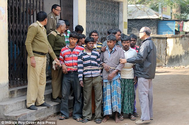 Police arrest around a dozen people in connection with the gang rape of a 20-year-old woman from Birbhum District in West Bengal, India.
