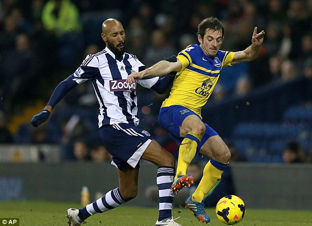 Playing with fire: If Anelka ends up with a 10 game ban then West Brom could choose to terminate his deal