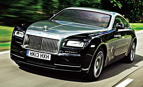 The company has really taken it up a notch, like there's a renewed confidence of what a Rolls should be