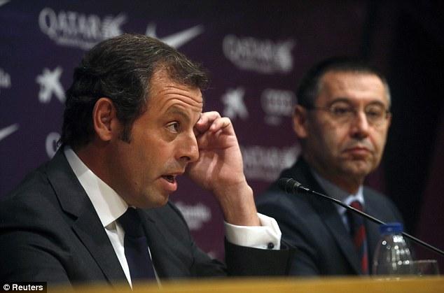 Official: Sandro Rosell has resigned as president of Barcelona