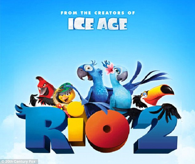 Going to the premiere? Anne will next reprise her voiceover role as Jewel the parrot in the animated sequel Rio 2 - coming out Friday