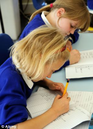 Of the 160,000 pupils who gained good SATs results when they left primary school,  84,000 failed to achieve a C-grade or higher in core subjects