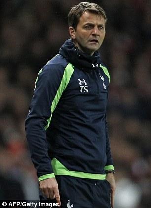 High praise: Spurs boss Tim Sherwood (left) and Everton boss Roberto Martinez are impressing this season