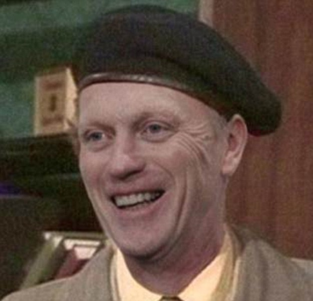 Whoopsie: David Moyes as 'Some Mothers Do 'Ave 'Em's' Frank Spencer