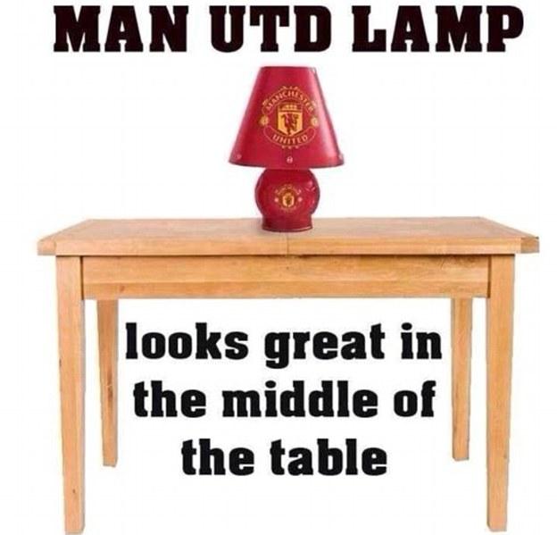 Lightbulb moment: Now the joke is on United