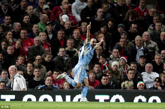 Sky Blues for United: Michael Mifsud netted as Coventry knocked Sir Alex Ferguson's side out of the League Cup