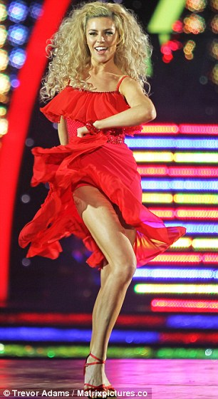 Dancing queen: British model and television personality Abbey Clancy on the Strictly tour this week