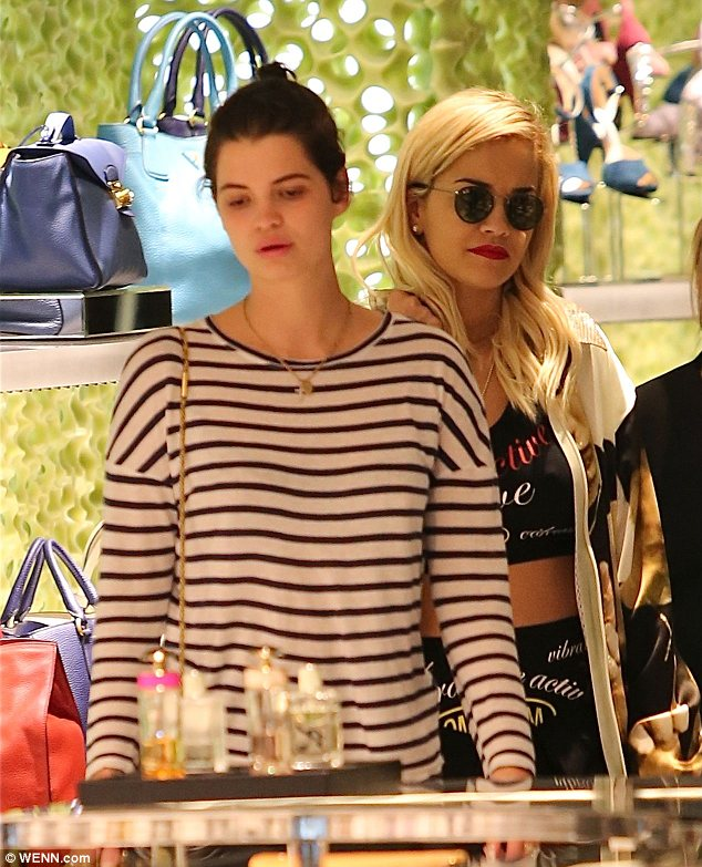 See something you like? Pixie and Rita browsed the designer stores in LA's famous Rodeo Drive