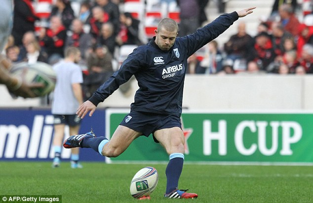 Options: Jones could have looked to go abroad in a similar vein to Leigh Halfpenny, who signed for Toulon