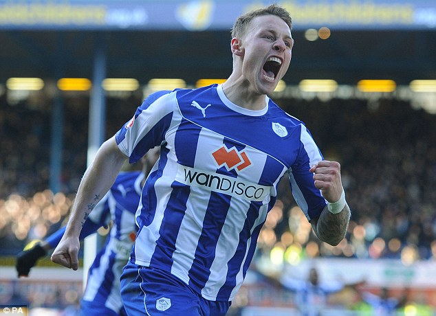 Missing out: Parent club Sunderland have prevented Connor Wickham from appearing for Sheffield Wednesday in the FA Cup