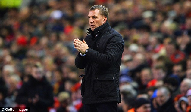 Lookout: Reds' manager Brendan Rodgers said that the club had been tracking the Basle man for months