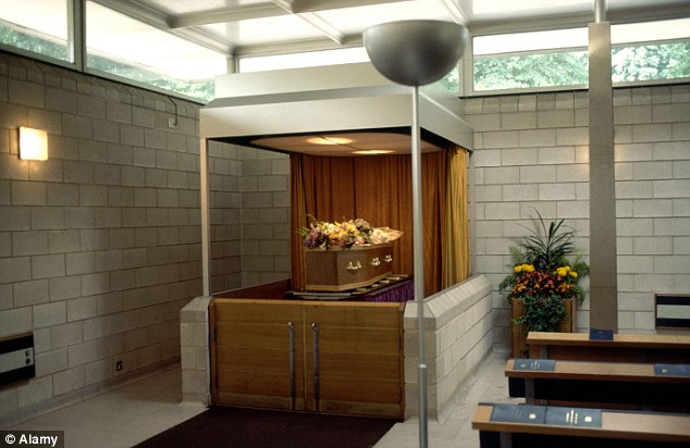 Send-off: Cremations can cost considerably less in the morning than at midday