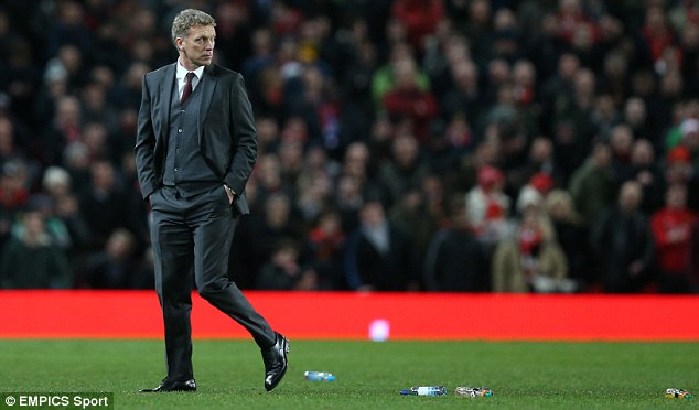Favour: David Moyes is in desperate need of reinforcements at Old Trafford after a run of dismal results