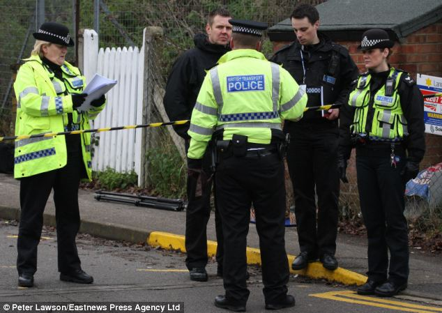 A man was gunned down at the railway station as he went to catch a train to work