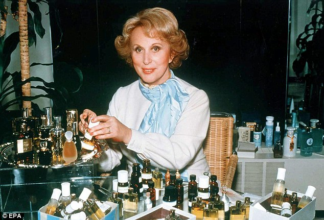 Working her magic: If the home's famous former tenant isn't enough of a pull, it is also where Lauder (pictured in an undated photo) developed one of her most popular fragrances, Beautiful