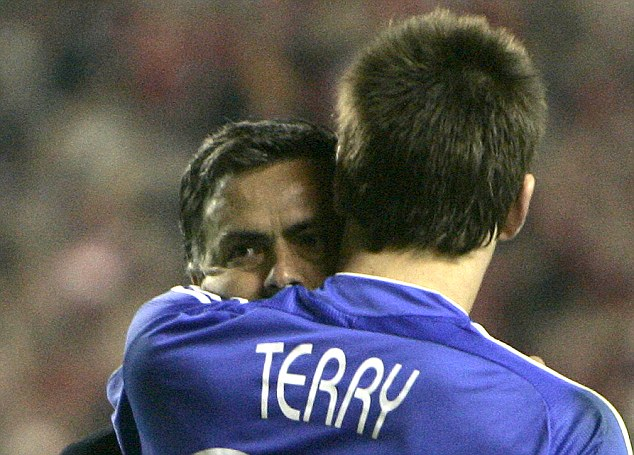 End of the road? John Terry's future in doubt... but Jose still has faith in the centre-half