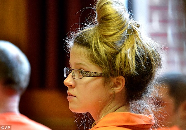 Sheila Eddy, pictured in court in October, was sentenced to life in prison for the murder of her friend in March this year