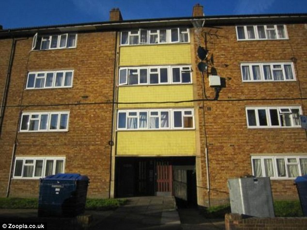 Bargain buy: This one bedroom flat in Lord Warwick Street, Woolwich, SE18, is being advertised for sale at £90,000