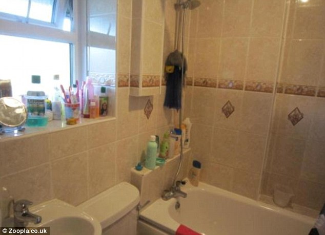 'Ideal for first time buyers': The property does have a good sized bathroom complete with a bath and shower unit