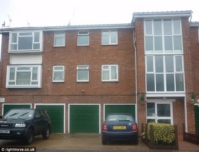 A one bedroom flat in Howden Close, Thamesmead, London, being advertised for £89,000