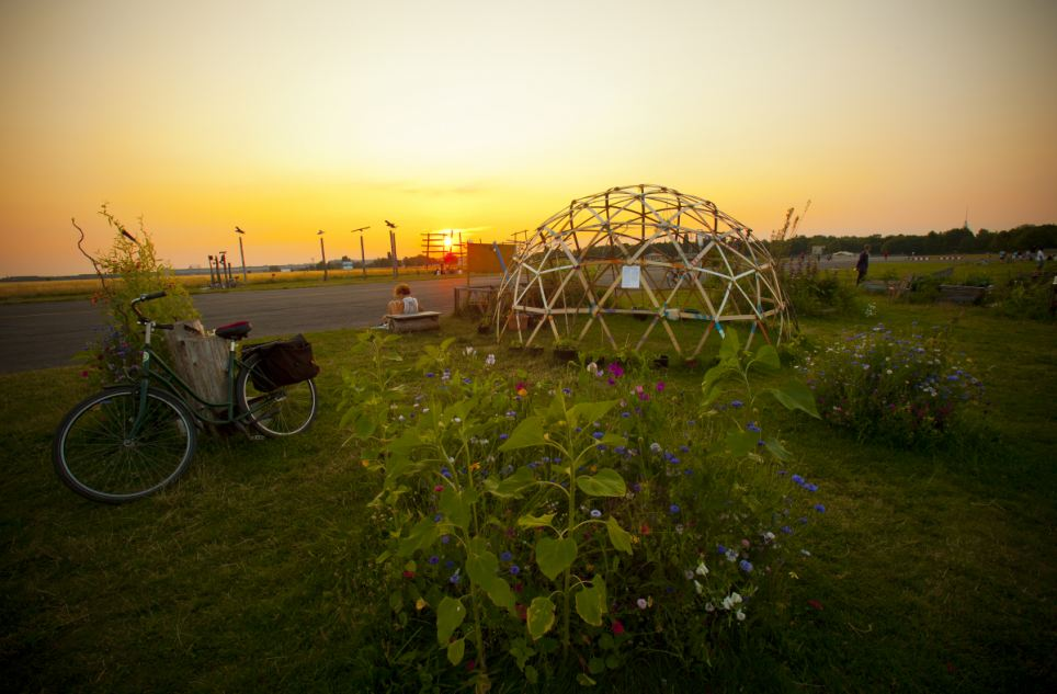 Heavenly: Jutta Riegel's still, moving sunset image came third for Gardens