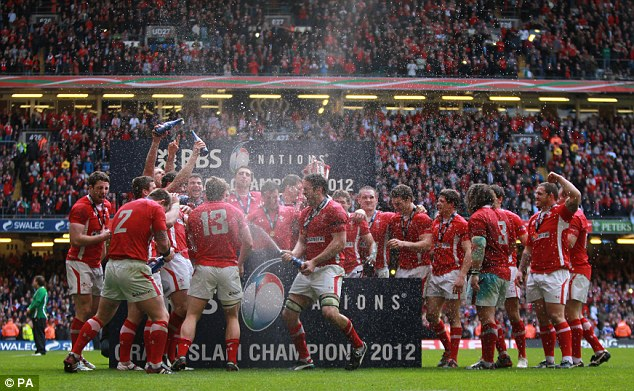 History: Wales will create history if they win this season's RBS 6 Nations Championship. And the reigning champions have no intention of shying away from that fact as they target a hat-trick of Six Nations titles