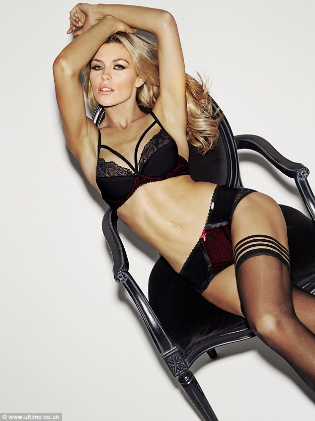 First look: The toned Strictly winner models on-trend cage bras in her first appearance for Ultimo