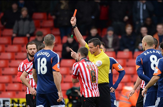 Correct: Referee Andre Marriner was right to send Michael Doyle off for stamping on Chris David
