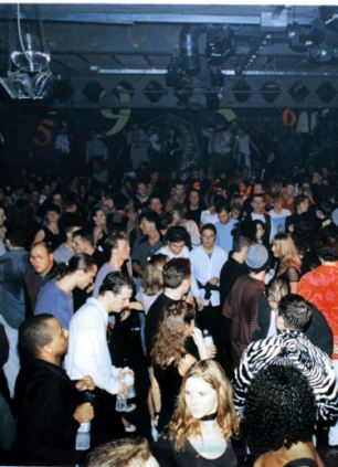 The Ministry of Sound nightclub was also targeted