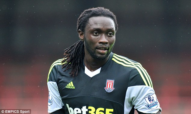 Ready? Cardiff are poised to announce the signing of Stoke City striker Kenwyne Jones