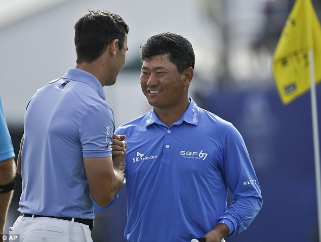 Missing out: K.J.Choi was almost among the five men who would have been part of the play-off