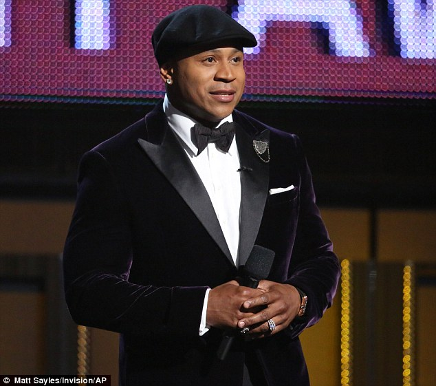 Host with the most? LL Cool J was on hosting duties at the event