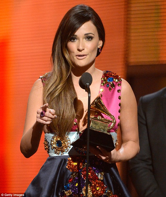 Sorry, Taylor! Kacey Musgraves beat Swift to the award for Best Country Album for her set Same Trailer Different Park