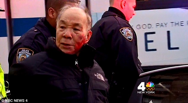 Kang Wong, who lives near the Upper West Side, was stopped earlier this month by an officer for allegedly crossing the street against the light