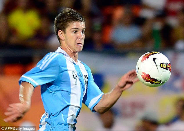 Argie bargy: Fulham hope to fend off interest from big clubs to land Luciano Vietto