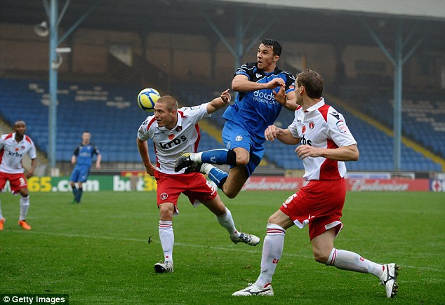 Prolific: In demand Lee Gregory has scored 18 goals in 23 games for Halifax this season